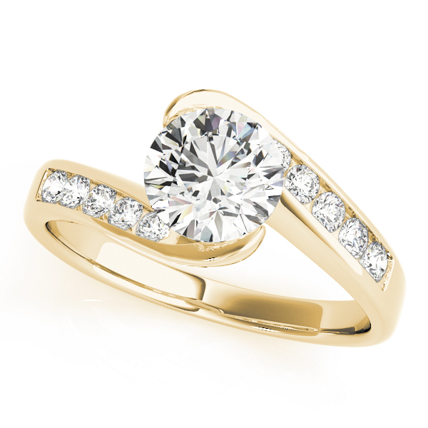 OVNT50342-E 14kt gold Engagement Rings BYPASS