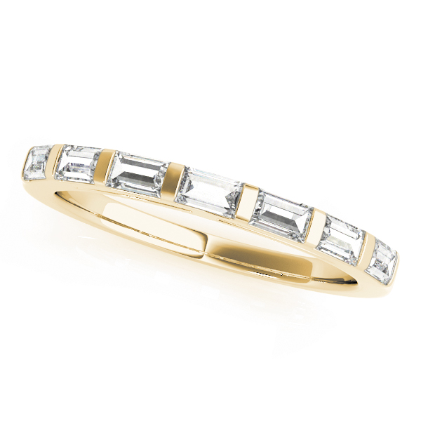 OVNT50419-W 14kt gold WEDDING BANDS FANCY SHAPE