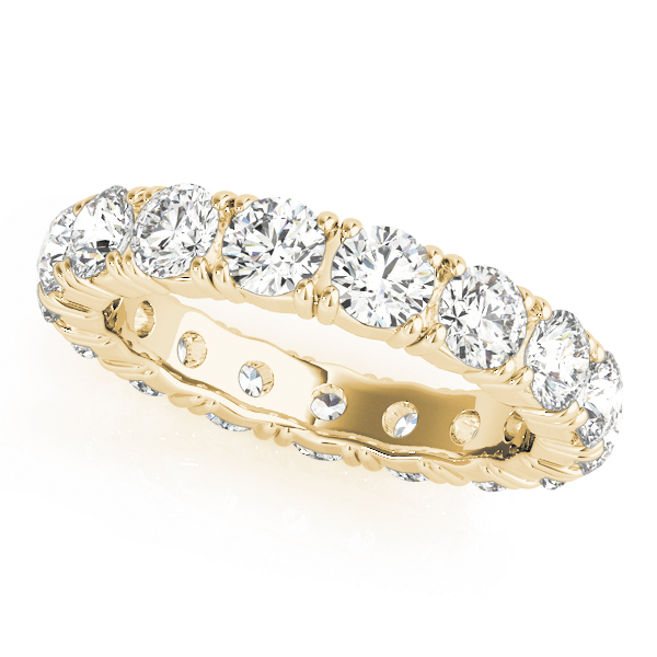 OVNT 81415-S6 14kt gold WEDDING BANDS ETERNITY
