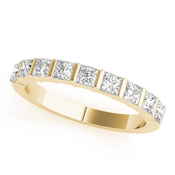 OVNT82883-3 14kt gold WEDDING BANDS FANCY SHAPE