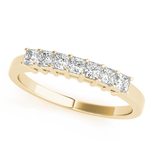 OVNT83441-2 14kt gold WEDDING BANDS FANCY SHAPE