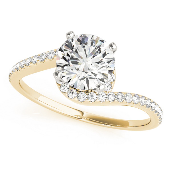 OVNT84261 14kt gold Engagement Rings BYPASS