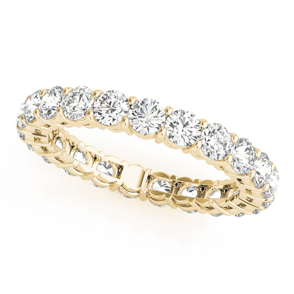 OVNT84378-.25S6 14kt gold WEDDING BANDS ETERNITY