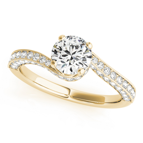 OVNT 84821 14kt gold Engagement Rings ANTIQUE