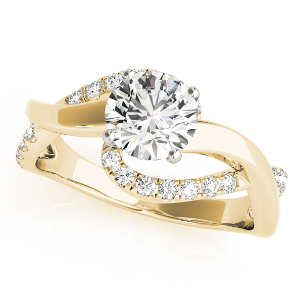 OVNT84832 14kt gold Engagement Rings BYPASS