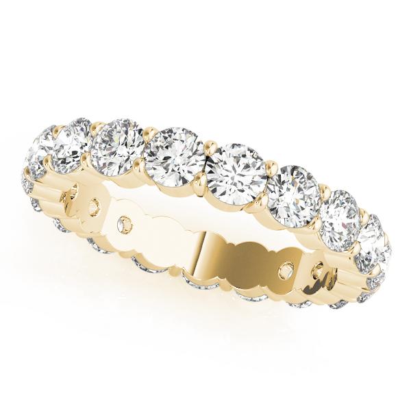 OVNT84908-.03S7 14kt gold WEDDING BANDS ETERNITY