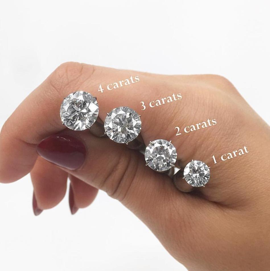 فحم الكوك معجب بري Good Size For Diamond Stud Earrings Psidiagnosticins Com