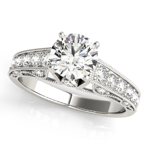 OVNT 50605-E 14kt gold Engagement Rings ANTIQUE