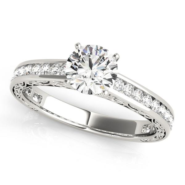 OVNT51047-E 14kt gold Engagement Rings ANTIQUE
