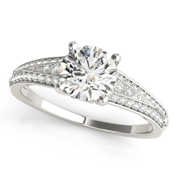 OVNT 51060-E 14kt gold Engagement Rings ANTIQUE