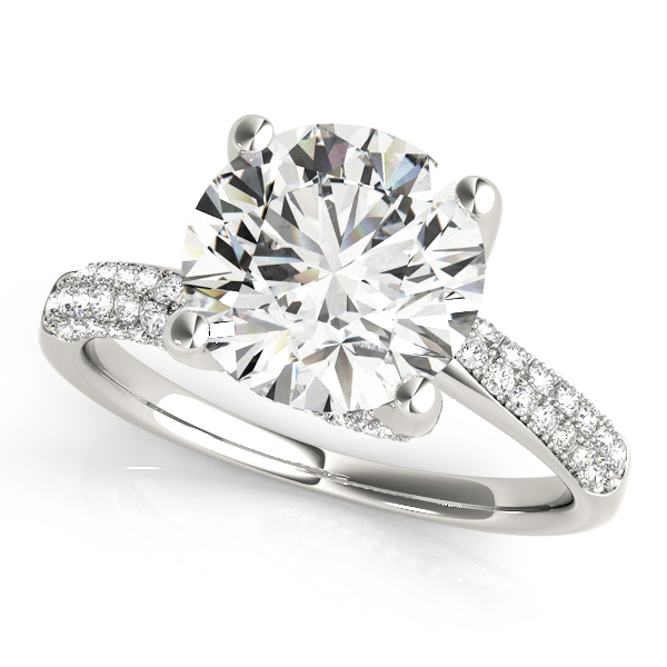 OVNT 84816 14kt gold Engagement Rings BYPASS