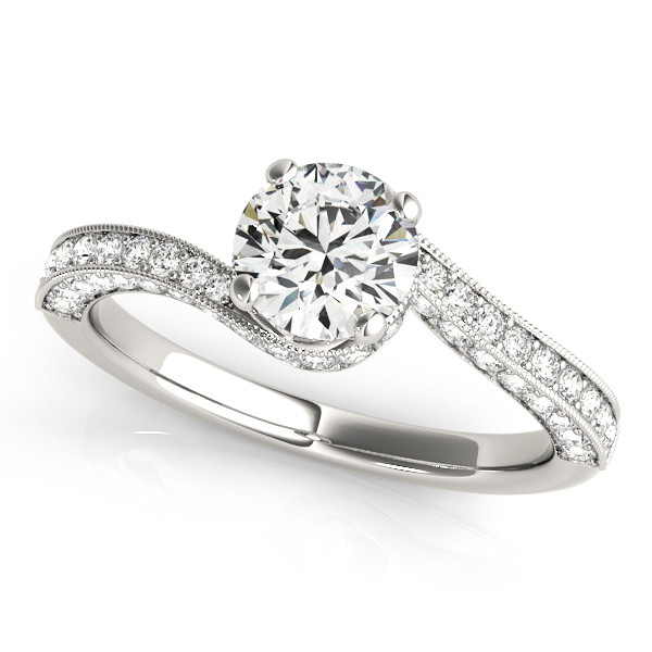 OVNT 84821 14kt gold Engagement Rings ANTIQUE